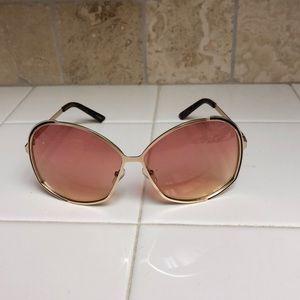 Accessories - Wire frame ombré lenses sunglasses